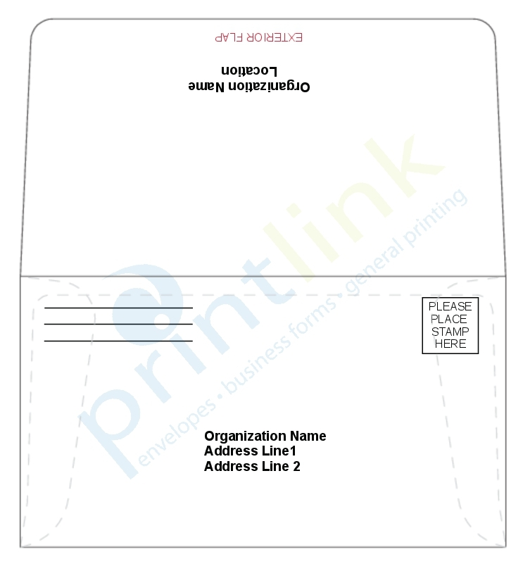 fundraising envelope template - remittance envelopes donation envelopes fundraising