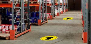 Directional Floor Decals