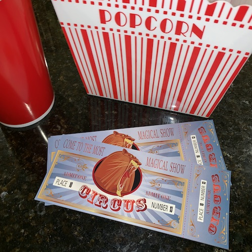 Custom printed Event Tickets