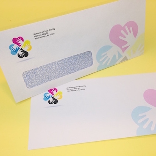 Printed Full Color Envelopes